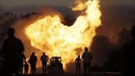 Batna : Quatre personnes blessées dans l'incendie d'une usine de production de bouteilles à gaz