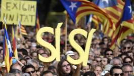Espagne : des centaines de milliers d'indépendantistes catalans manifestent avant un vote