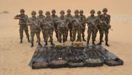 Importante saisie d'armes de guerre et munitions par l'ANP à Bordj Badji Mokhtar