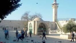 De violents affrontements sur l'esplanade des Mosquées à Jérusalem