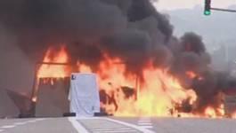 France : de violents incidents dans l'Isère pour obtenir une libération