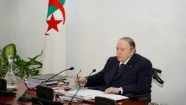 Bouteflika annonce la prochaine publication du projet de révision constitutionnelle