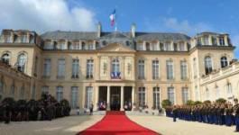 Le président François Hollande reçoit Ramtane Lamamra et Bouchouareb
