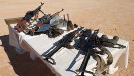Découverte d'une importante quantité de grenades et de munitions à Tin Zaouatine