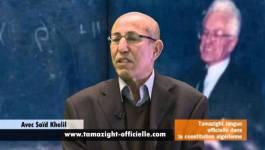 Saïd Khelil invité du club de la presse de Berbère Télévision