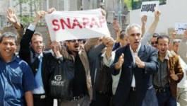 Un coordinateur du SNAPAP arrêté par des policiers