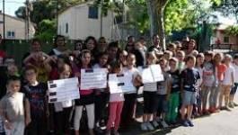 Des centaines de collégiens et lycéens protestent à Seggana (Batna)