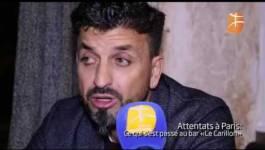 """Attaques kamikazes de Paris : l'un des patrons du bar """"le Carillon"""" se confie à BRTV"""