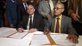 Libye: première rencontre des chefs des deux Parlements rivaux