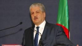 """Le peuple doit être """"rassuré"""", soutient Abdelmalek Sellal"""
