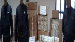 Un individu arrêté avec 3500 sachets de faux tabac à chiquer à Batna
