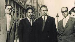 Conférence de Bélaïd Abane au Palais de la culture d'Alger