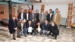Rassemblement de l'Alliance Nationale Patriotique à Tizi Ouzou