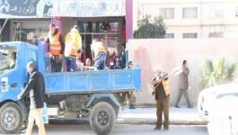 Opération d'éradication des étals informels à Batna