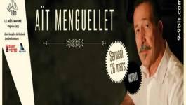 Lounis Aït Menguellet en concert le 26 mars à Oignies (Nord de la France)