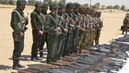 Un impressionnant arsenal de guerre découvert par l'ANP à El Oued (photos)
