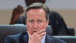 """""""Panama Papers"""": mobilisation à Londres réclamant la démission de David Cameron"""