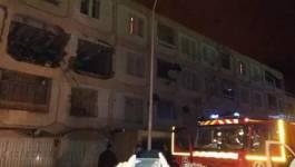 Batna : une explosion de gaz secoue la cité des 742-Logements