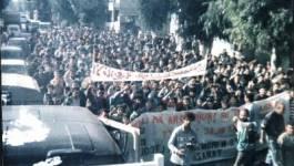 Témoignage sur la marche du MCB, 20 Avril 1993