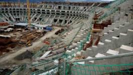 Le stade de 50 000 places couvertes de Tizi-Ouzou sera livré en 2017