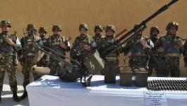 RPG 7, fusils mitrailleurs et roquettes découverts par l'ANP à Bordj Badji Mokhtar