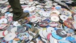 Destruction de deux millions de CD piratés : les artistes souffrent de la contrefaçon
