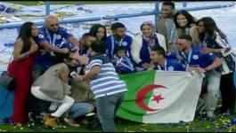 Riyad Mahrez et son club Leicester City fêtent dans l'extase la consécration
