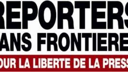 RSF inquiète des mesures annoncées par Abdelmalek Sellal pour l'audiovisuel