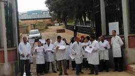 Sit-in des vétérinaires à Tiaret