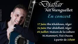 Série de concerts de Djaffar Aït Menguellet