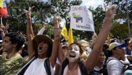 Au Venezuela, la pénurie de nourriture pousse la population à manifester