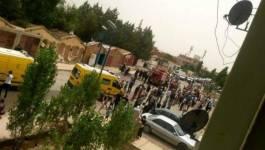 Deux morts dans l'incendie de magasins à Tiaret