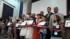 Batna : des prix d'excellence décernés aux meilleurs élèves des trois paliers