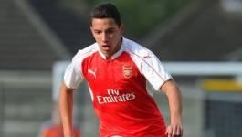 Ismaël Bennacer, milieu de terrain d'Arsenal, portera le maillot de l'Algérie