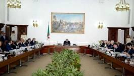 Un Conseil des ministres se tient ce mardi à Alger