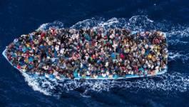 Cinq migrants morts en Méditerranée dimanche, 6.500 secourus depuis jeudi