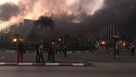 Gabon/présidentielle : l'Assemblée nationale incendiée par des manifestants