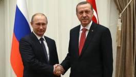 Vladimir Poutine et Erdogan déterminés à régler leurs différends