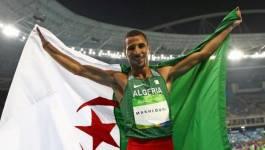 Taoufik Makhloufi arrache la seule médaille algérienne aux J.O. de Rio