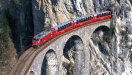 Suisse: attaque au couteau dans un train, sept blessés [actualisé]