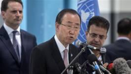 Ban ki-moon dénonce les propos de Netanyahu sur le nettoyage ethnique