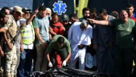 202 morts dans le naufrage d'un bateau de migrants au large de l'Egypte
