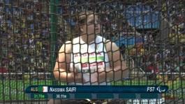 Médaille d'or pour l'Algérienne Nassima Saifi aux Jeux Paralympiques