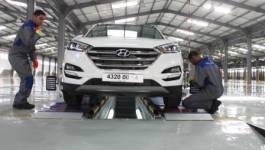 Sortie du premier véhicule Hyundai de l'usine de Tiaret