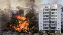 Israël brûle, les réseaux sociaux arabes s'enflamment !