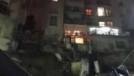 Affaissement : un immeuble évacué d'urgence à Alger