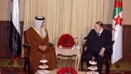 Le président Bouteflika reçoit le vice-président du conseil des ministres des EAU (Vidéo)