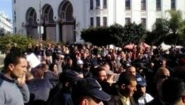 Une vingtaine d'arrestations de syndicalistes à Alger (en images)