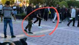 Des sbires du Makhzen s'attaquent aux manifestants du Rif