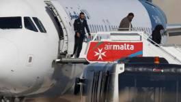 Détournement d'avion sur Malte : les deux pirates libyens arrêtés (Vidéo)